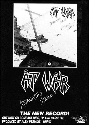 AT WAR - Retaliatory Strike - Magazine Advertisement