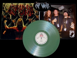At War Infidel Limited Edition Fatigue Green Vinyl