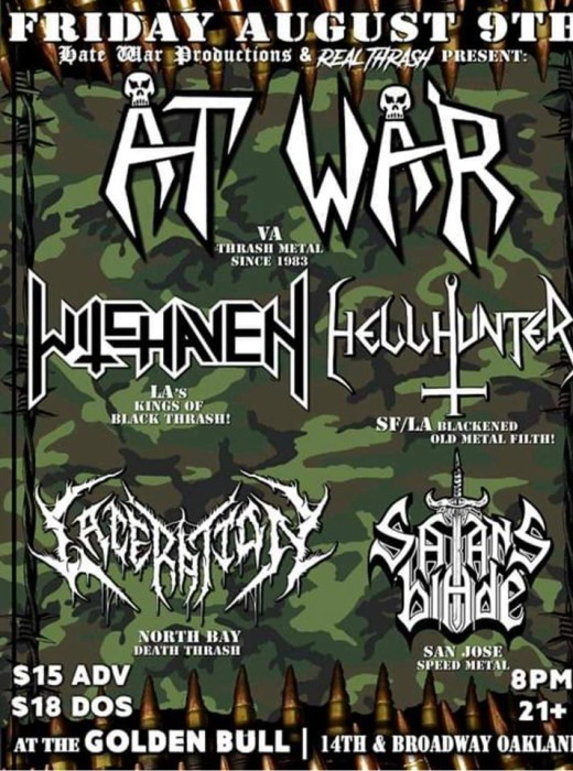 AR WAR LIVE IN OAKLAND!!!!!